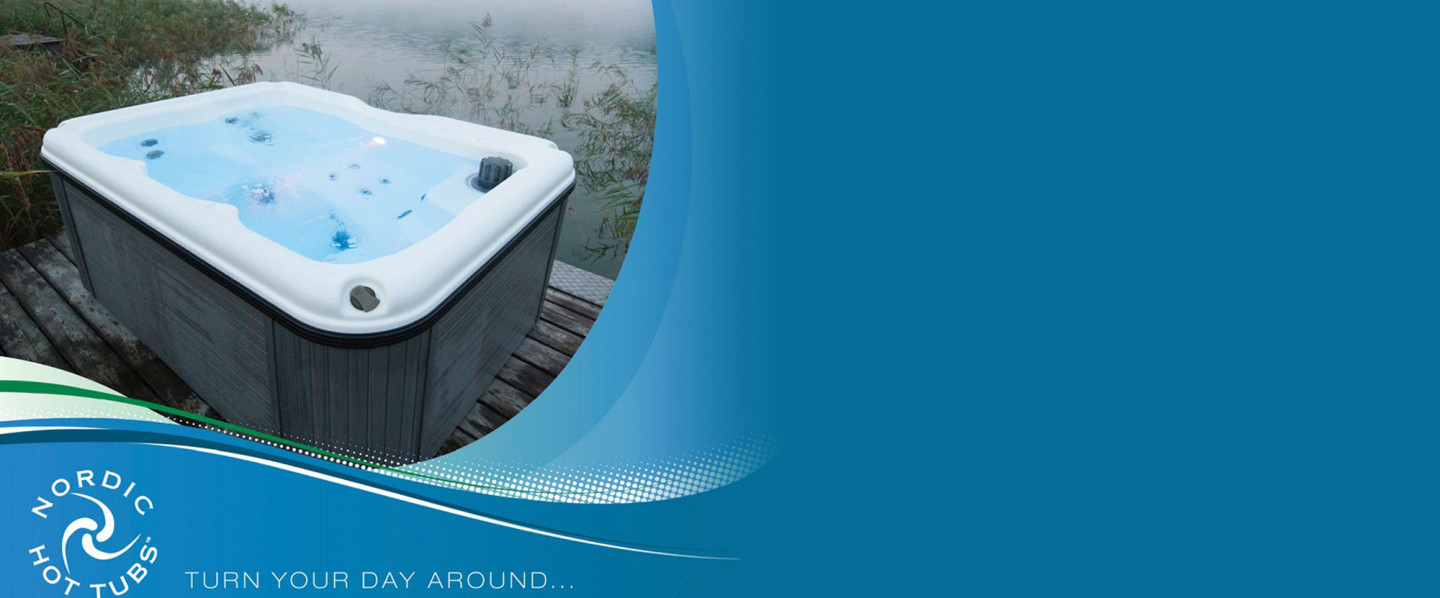The perfect night starts with a new Nordic Hot Tub!